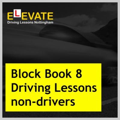 Block Book 8 Driving Lessonsnon-drivers