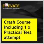 Crash Course including 1 x Practical Test attempt