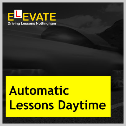 Automatic driving lessons in Nottingham