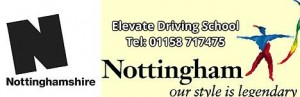 Robin Hood Nottingham and Elevate Driving School in Nottingham.
