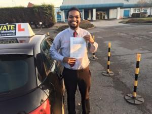 Intensive driving courses Nottingham Crash Courses
