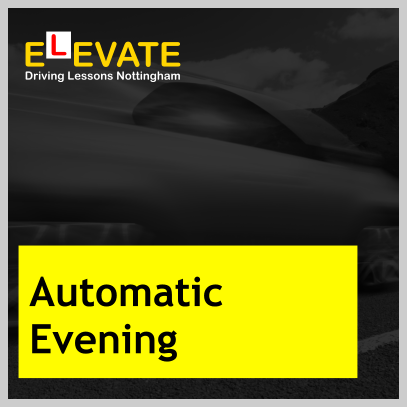 Automatic driving lessons Nottingham